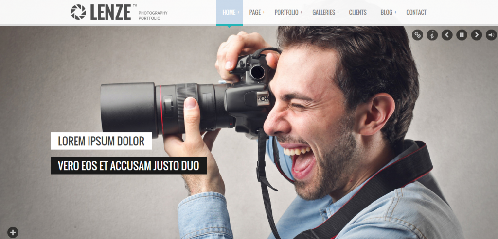 Download Photography HTML Themes