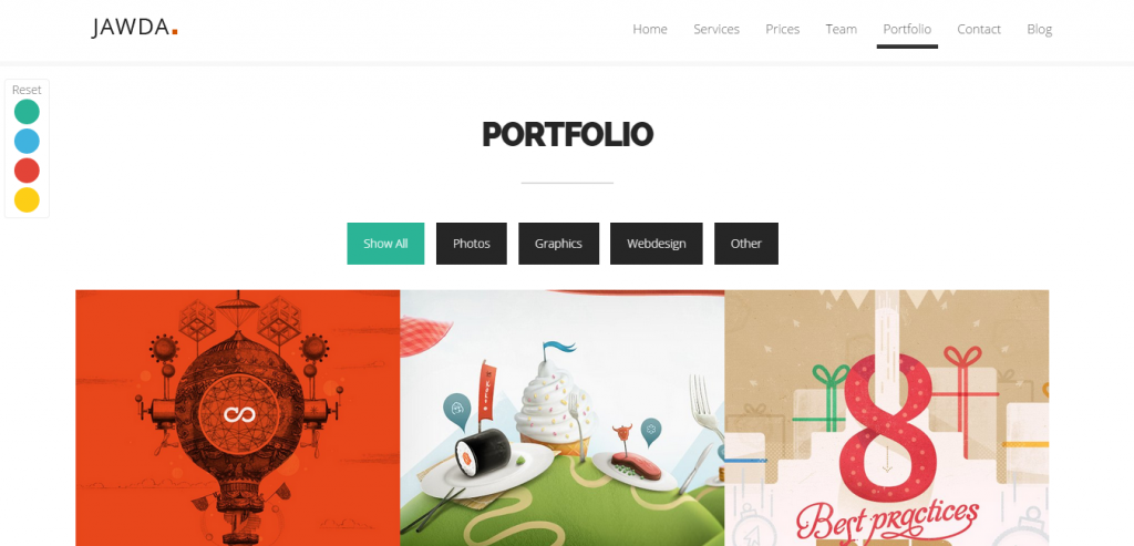 Download Portfolio Joomla Templates