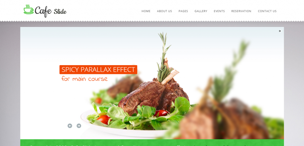 Download Restaurant HTML Template