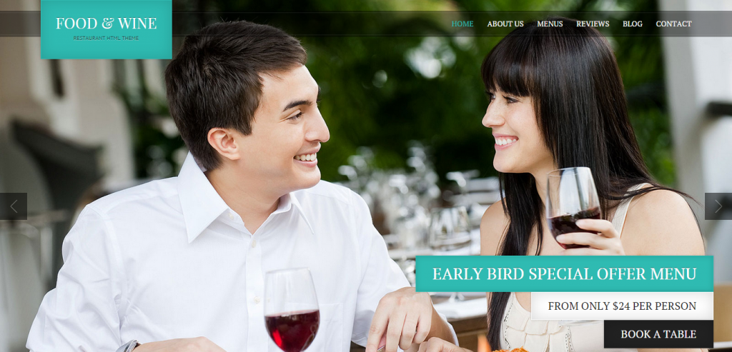 Download Restaurant HTML Themes