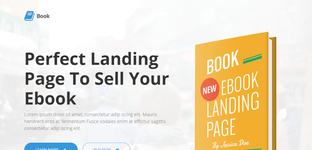 Download Simple HTML Landing Page Template