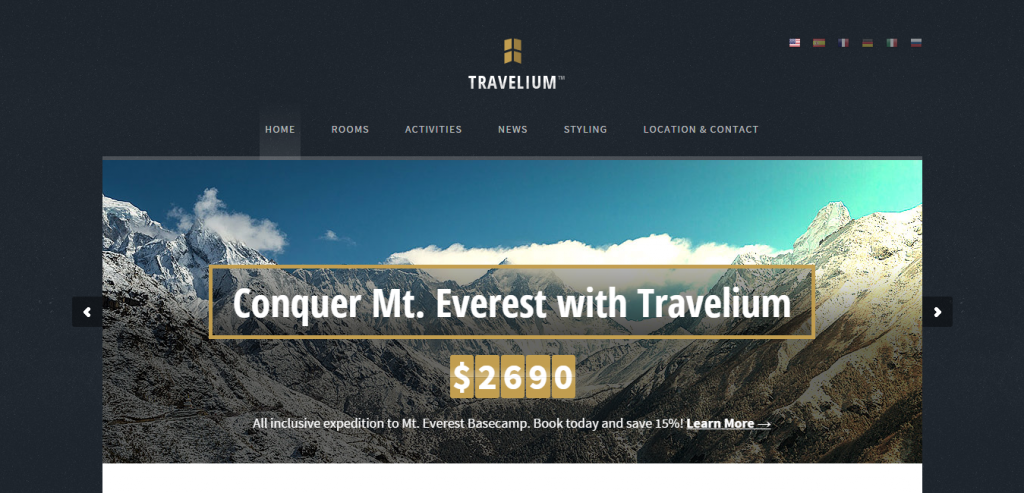 Download Travel HTML Themes