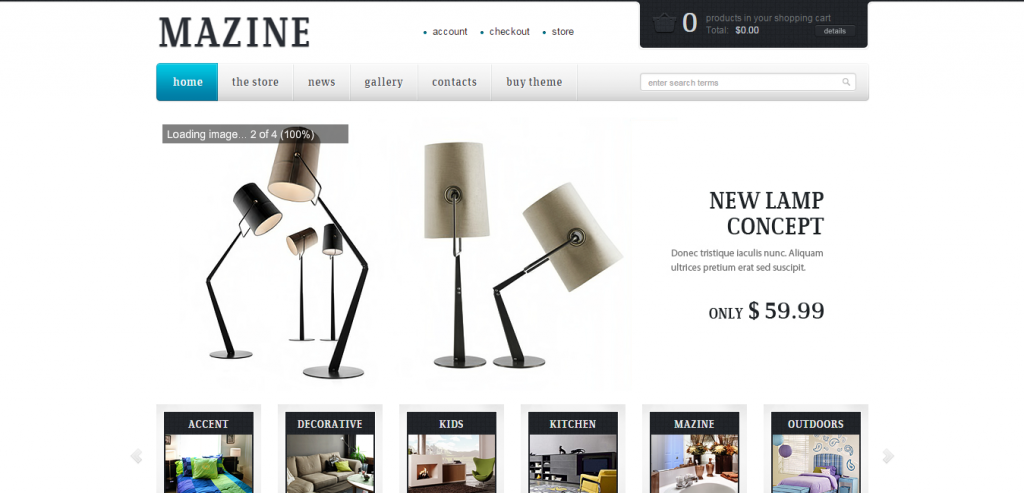 Download WP e-Commerce Theme