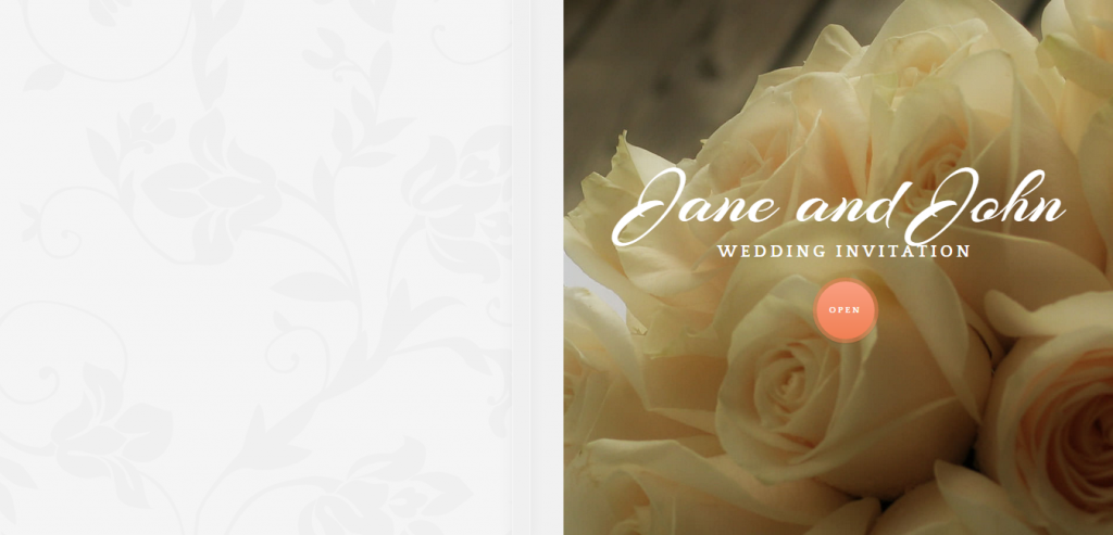 Download Wedding HTML Template