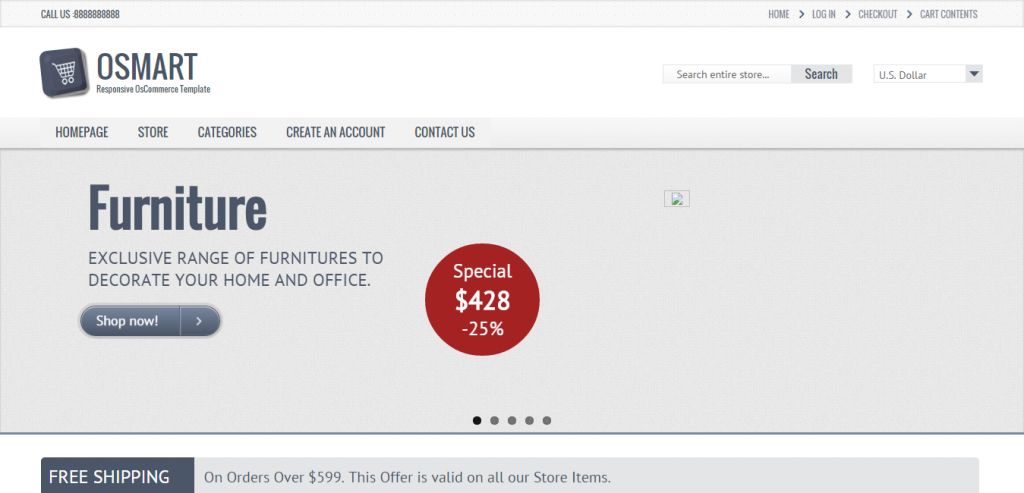 Download osCommerce Themes