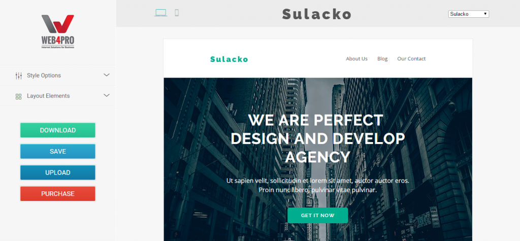 Sulacko Email Template