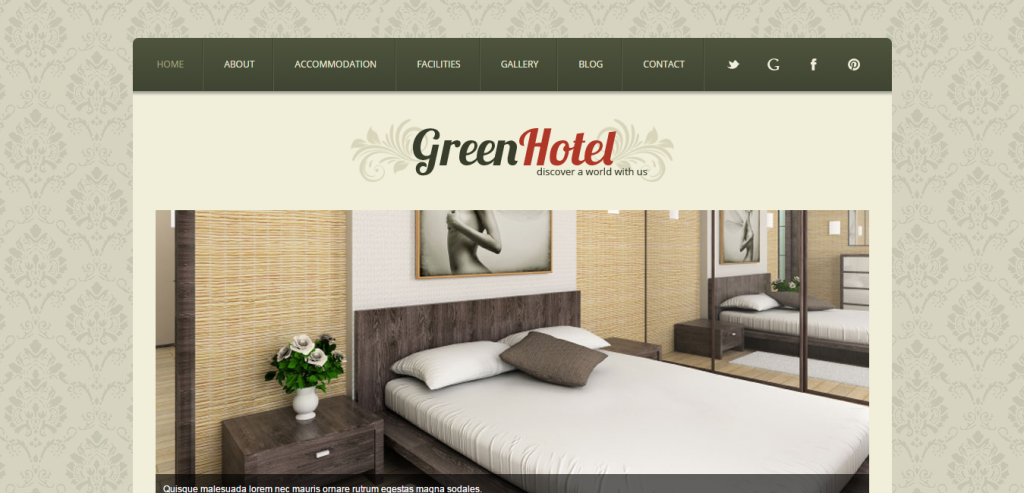 Fluid Hotels HTML Themes