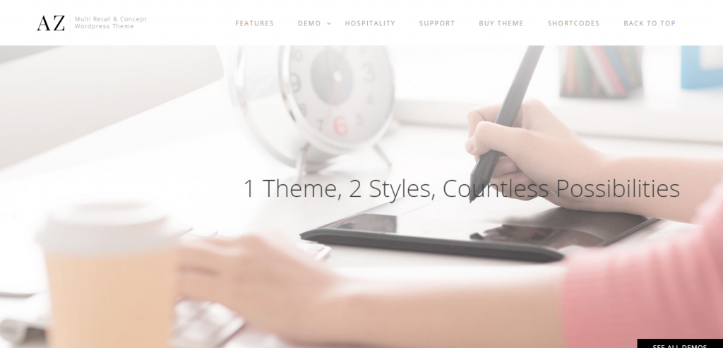 Fluid Multipurpose WordPress Themes