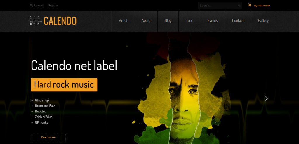 Fluid Music HTML Templates