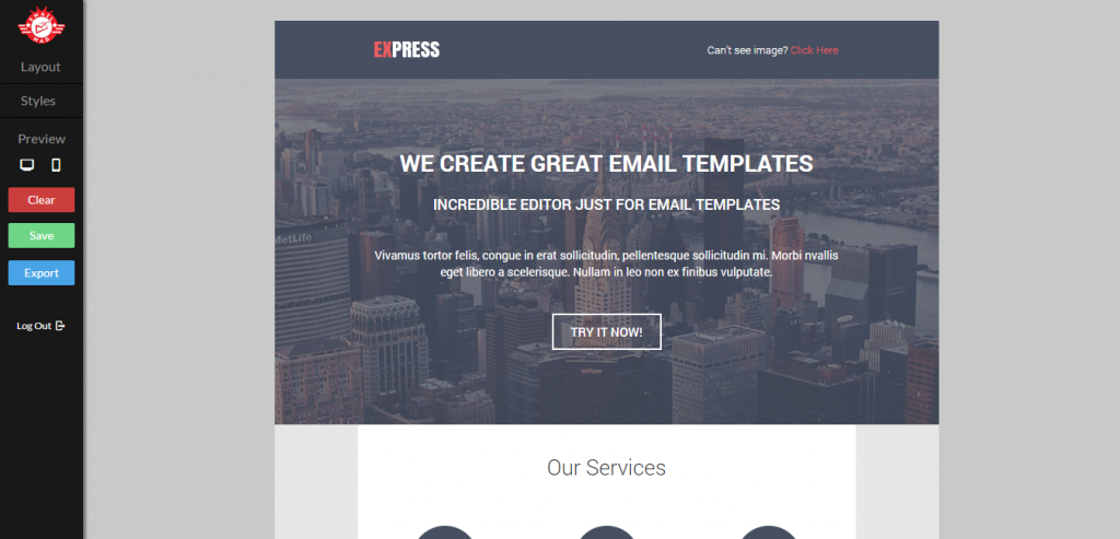 Best Responsive HTML Email Templates Weelii - Simple html email template