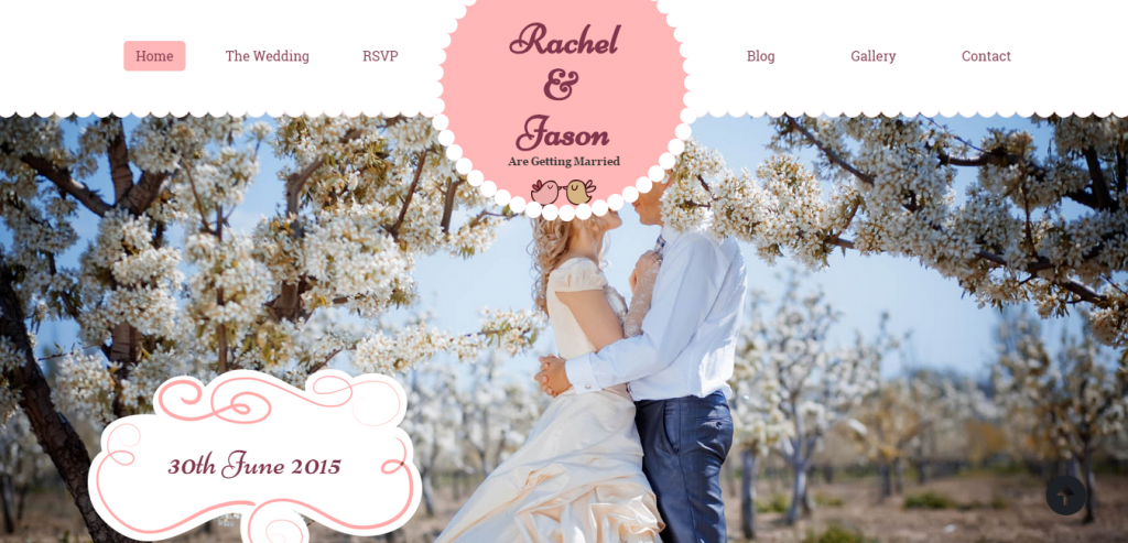 Fluid Wedding HTML Templates