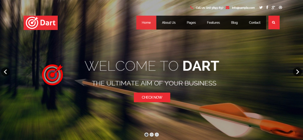 Free Business Joomla Theme