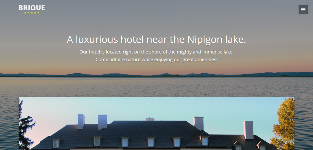 Free Hotels HTML Templates