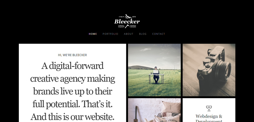 Free Photography HTML Template