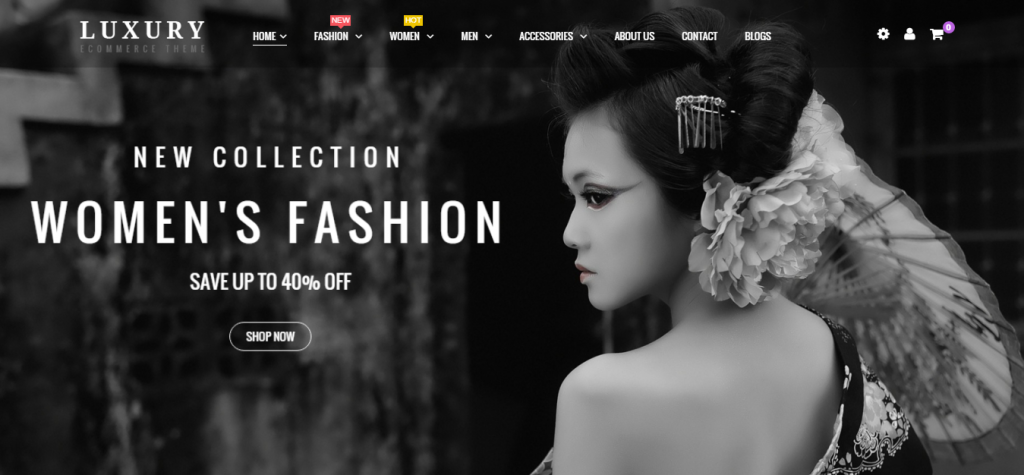 Luxury Responsive Prestashop Theme