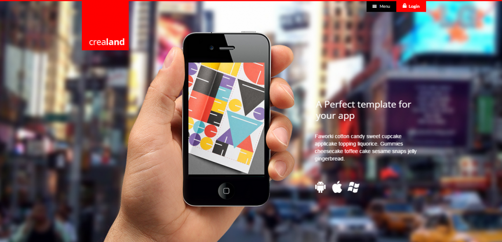 New App Landing Page WordPresss Theme