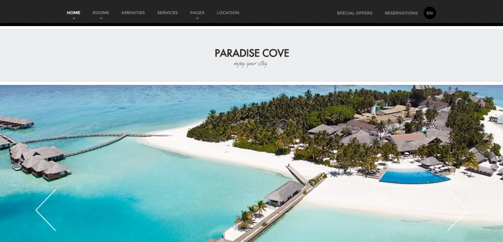 New Hotels HTML Template