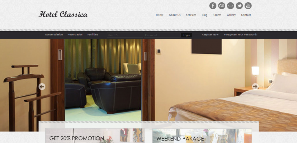 New Hotels HTML Theme