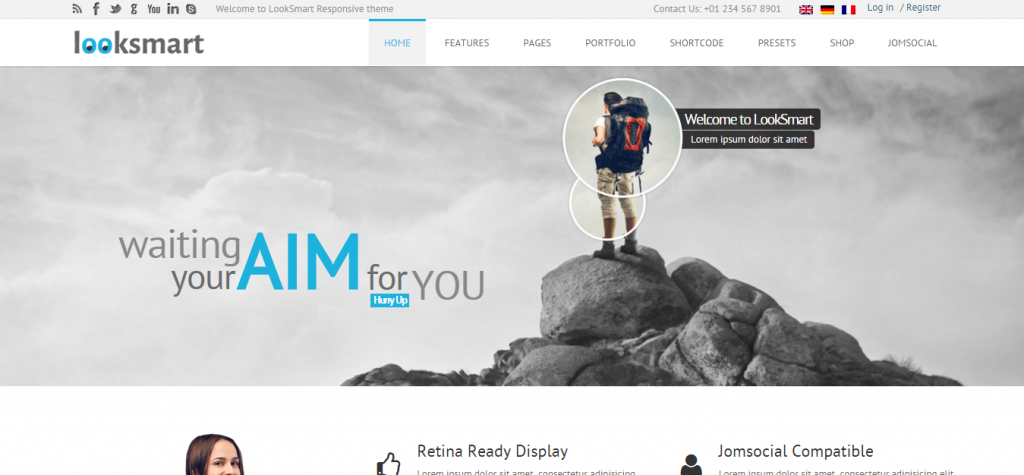 New Joomla Business Template