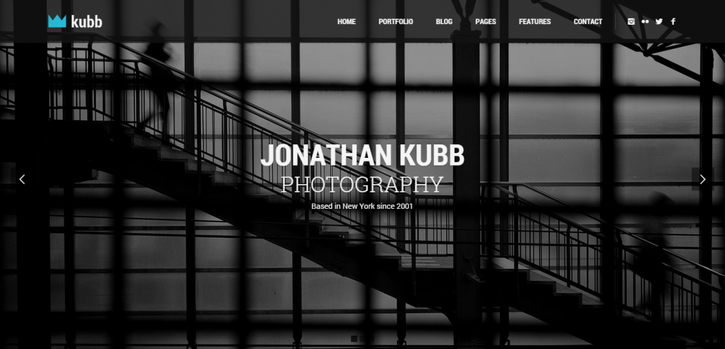 New Photography HTML Template