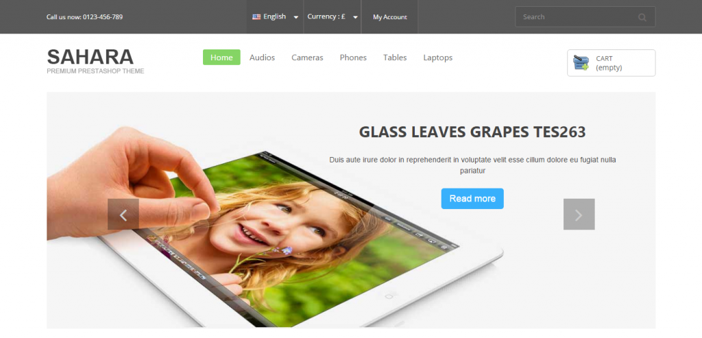 New PrestaShop Responsive Templates