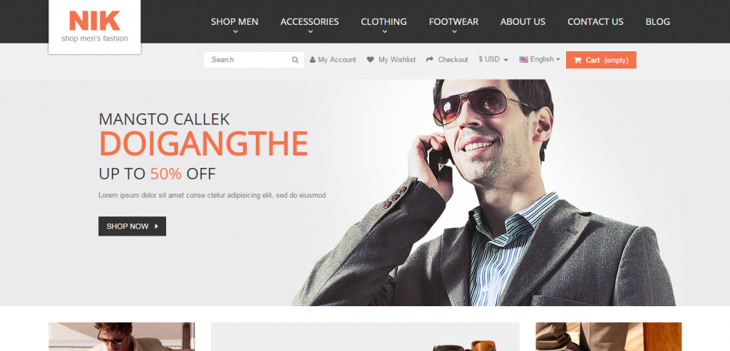 New PrestaShop Responsive Themes
