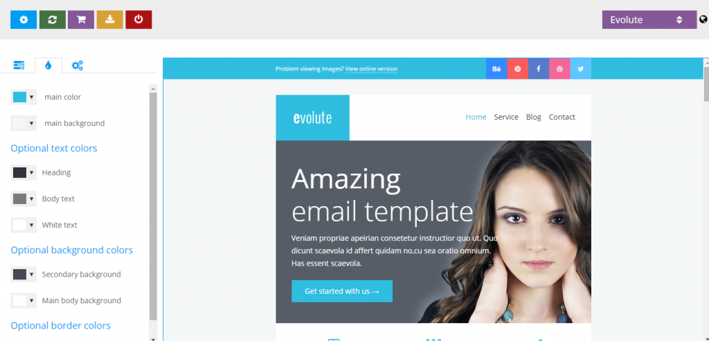 New Responsive HTML Mail Template