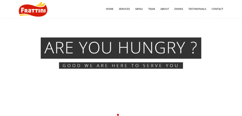 New Restaurant HTML Template