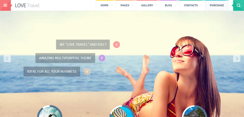 New Travel HTML Template
