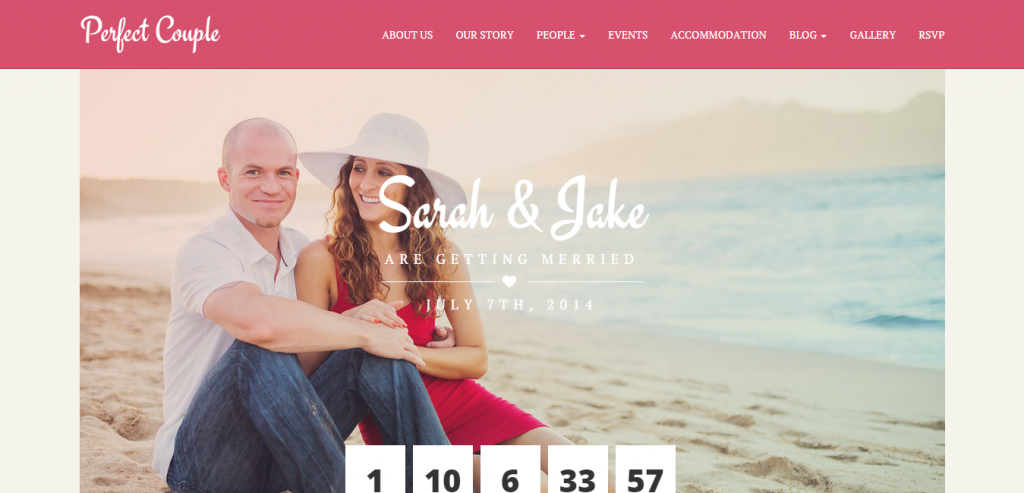 New Wedding HTML Template