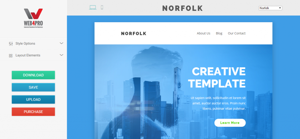 Norfolk Email Template
