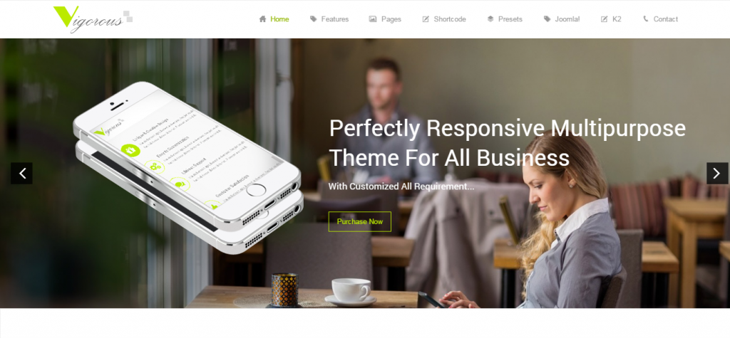 Premium Business Joomla Themes