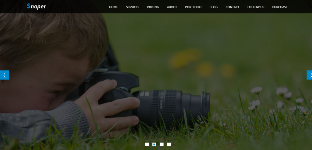 Premium Photography HTML Template