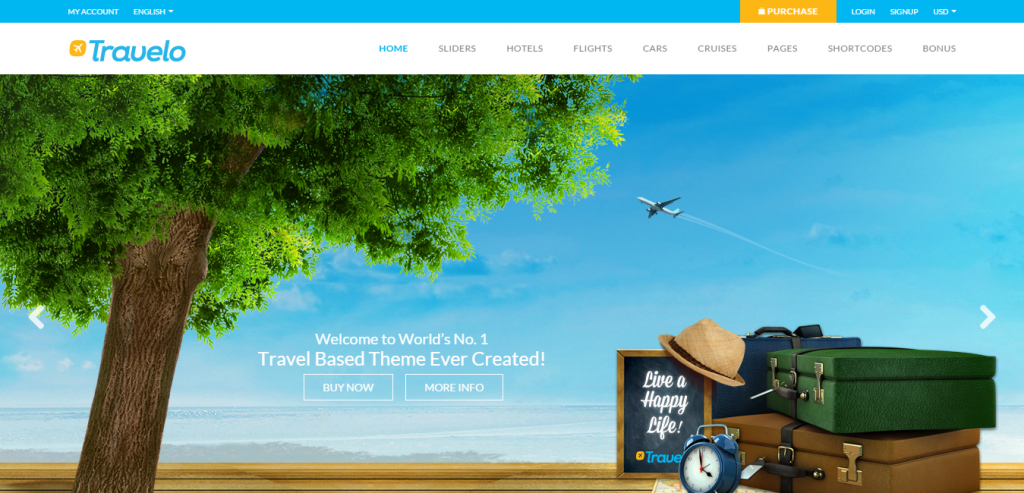 Premium Travel HTML Templates