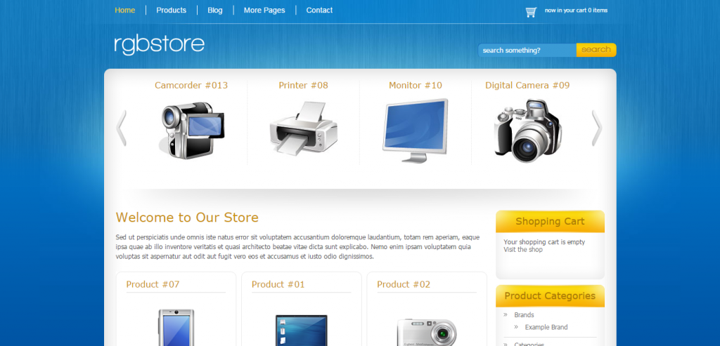 Premium WP e-Commerce Theme
