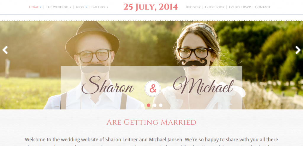 Premium Wedding HTML Template
