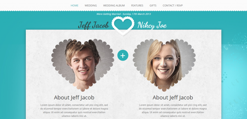 Premium Wedding HTML Themes