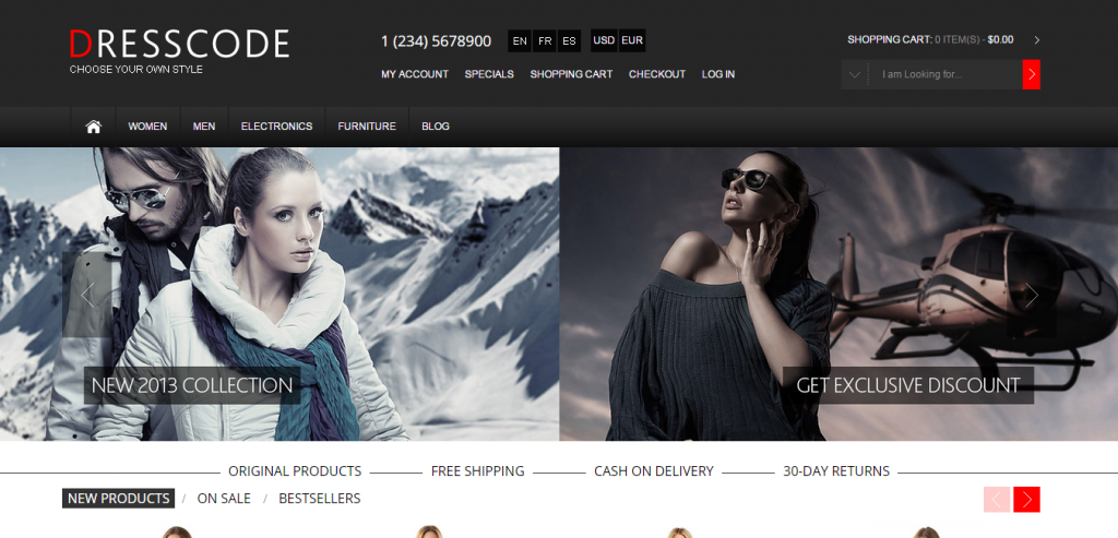 Premium osCommerce Themes