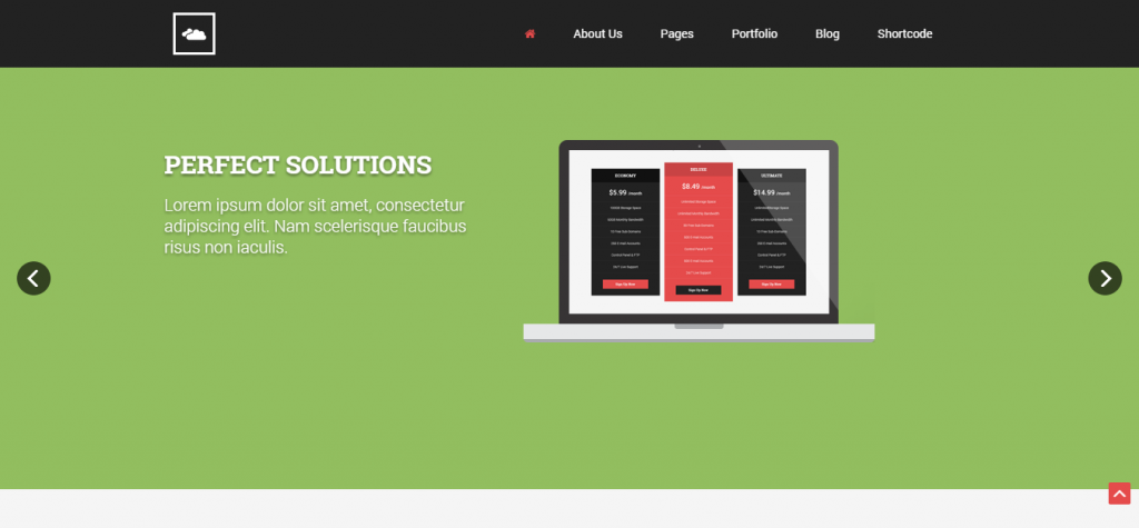 Responsive Business Joomla Theme