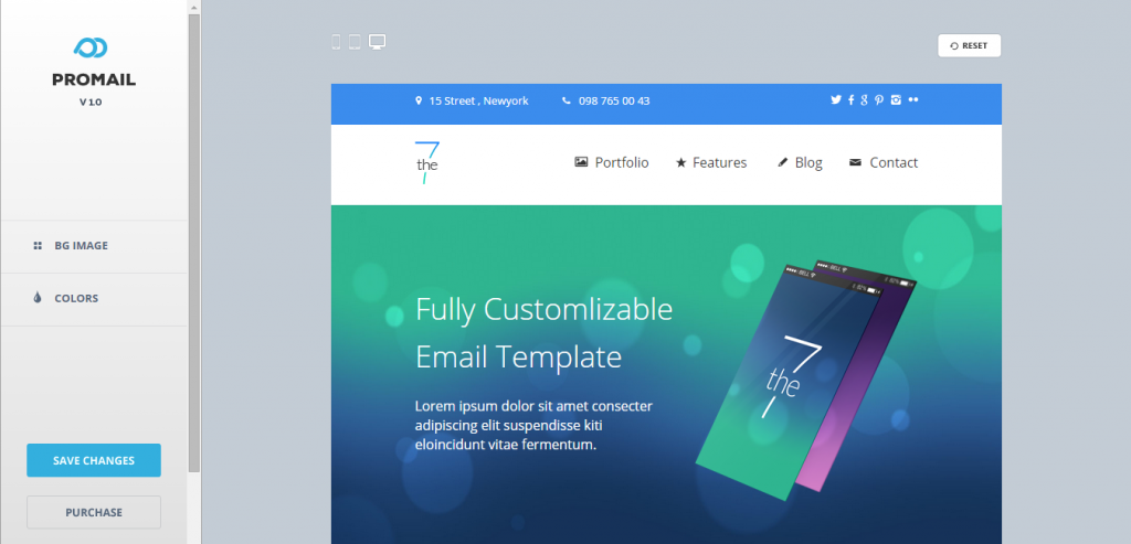 Responsive HTML Mail Template