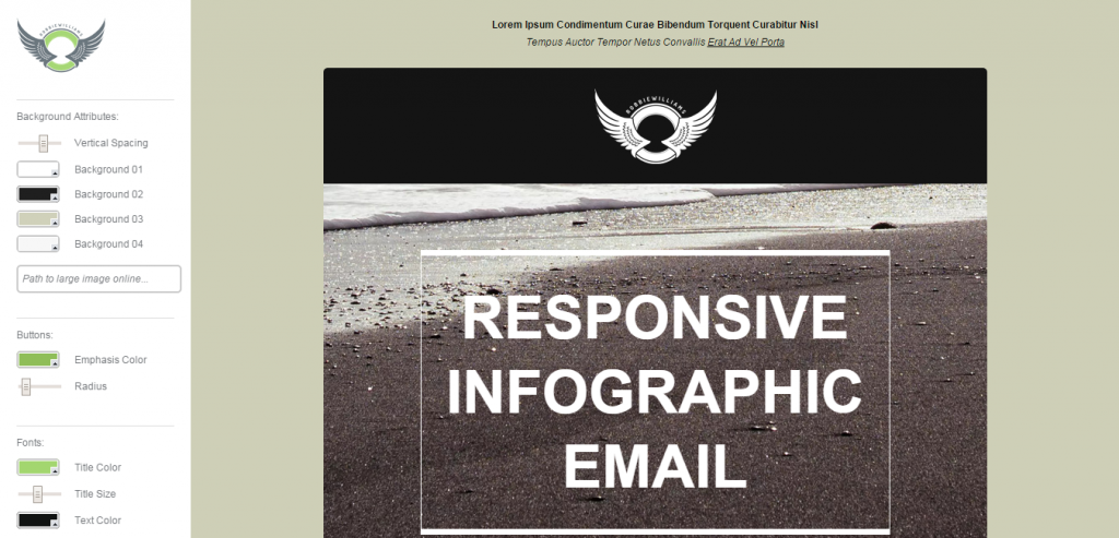 Responsive HTML Mail Themes