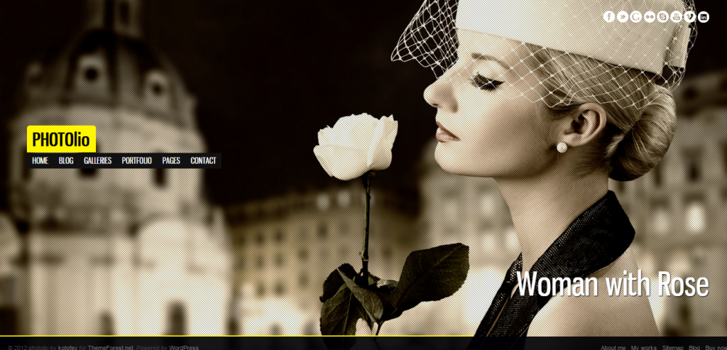 Responsive HTML Photography Templates