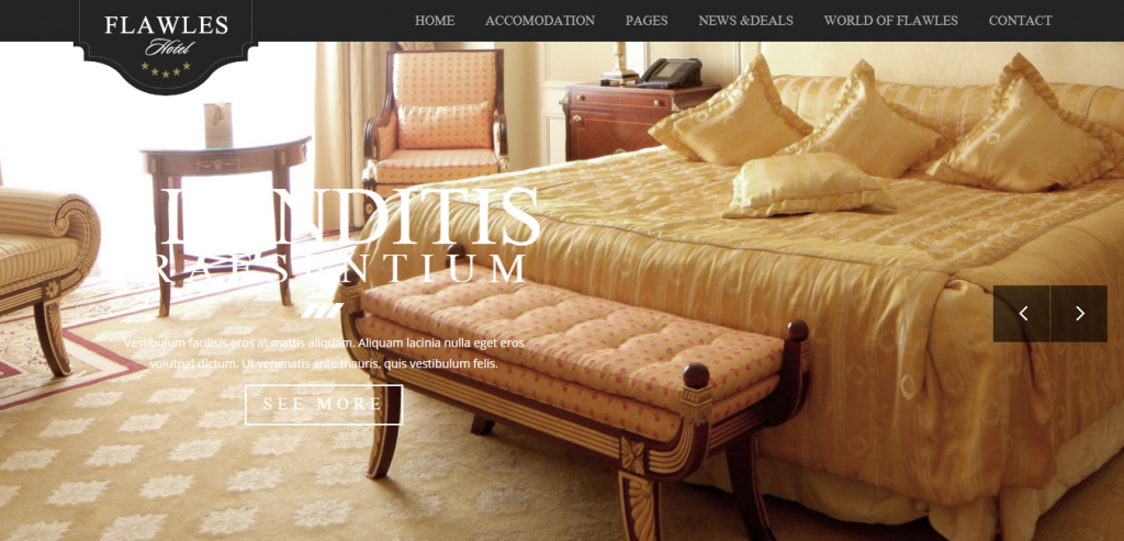 Responsive Hotels HTML Templates