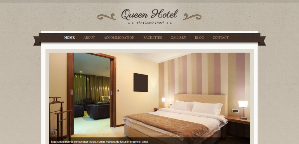 Responsive Hotels HTML Themes