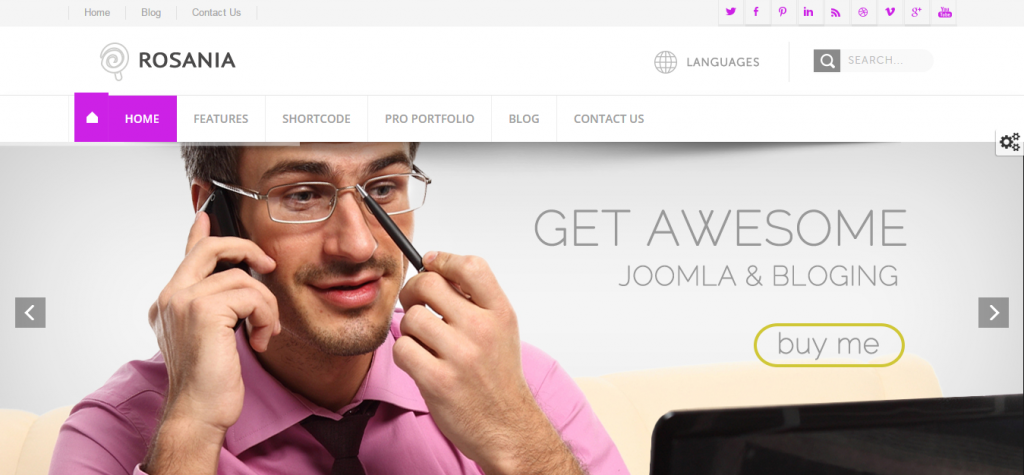 Responsive Joomla Business Templates