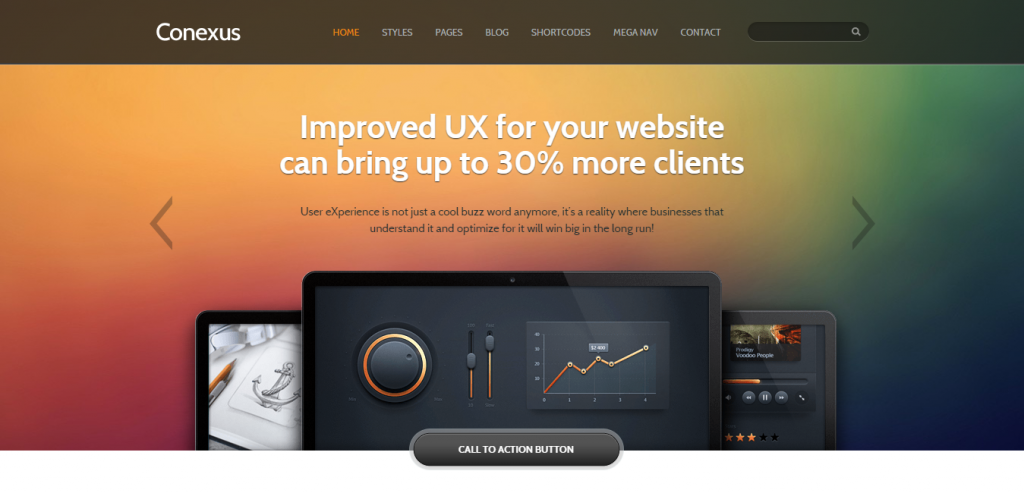 Responsive Marketing HTML Template