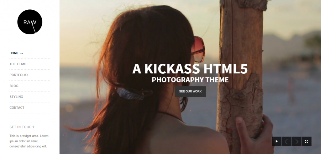Responsive Photography HTML Template