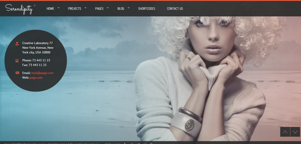 Responsive Photography HTML Theme