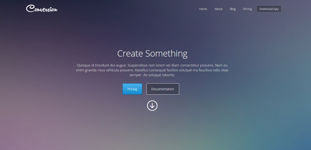 Simple HTML Landing Page Templates Weelii - Simple landing page html template
