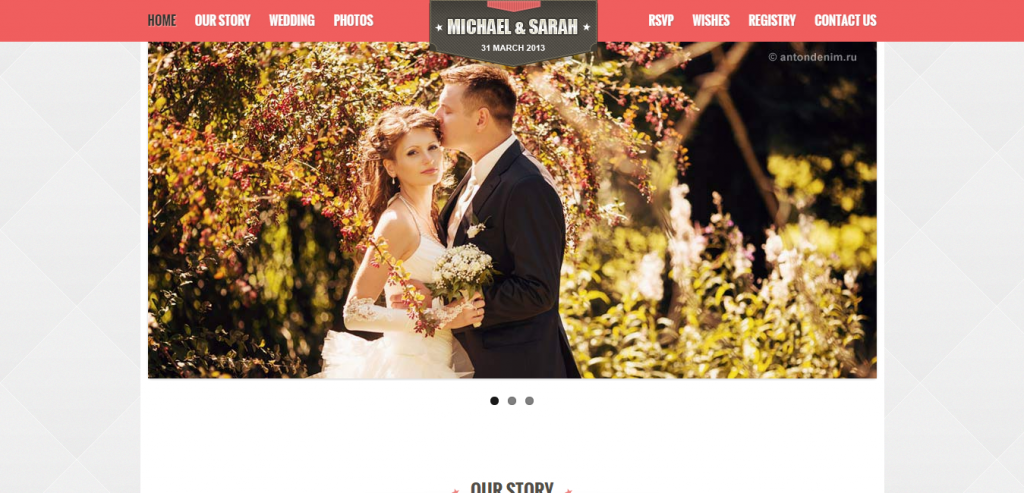 Responsive Wedding HTML Themes